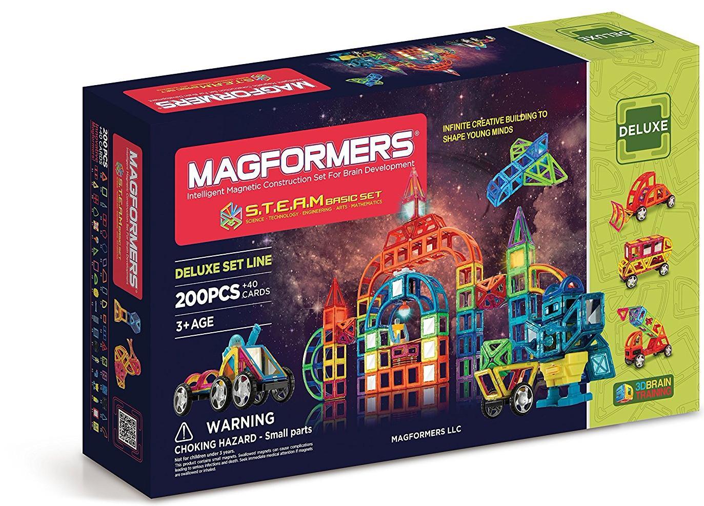 Магнитный конструктор Magformers STEAM Basic Set (710008)