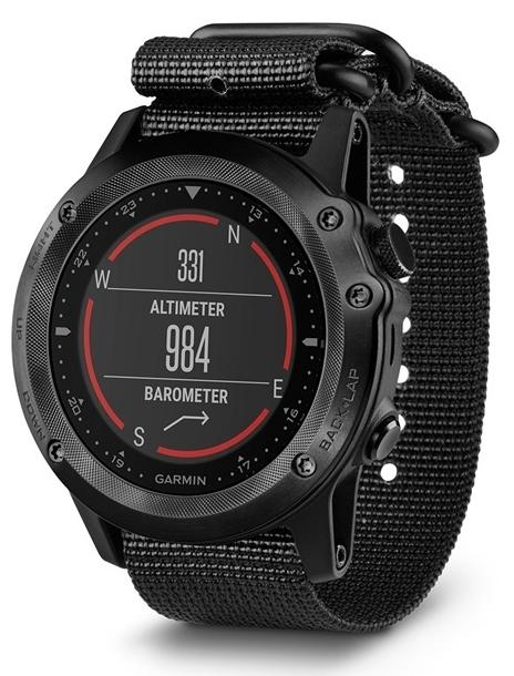 Спортивные GPS-часы Garmin Tactix Bravo 010-01338-0B (Black)
