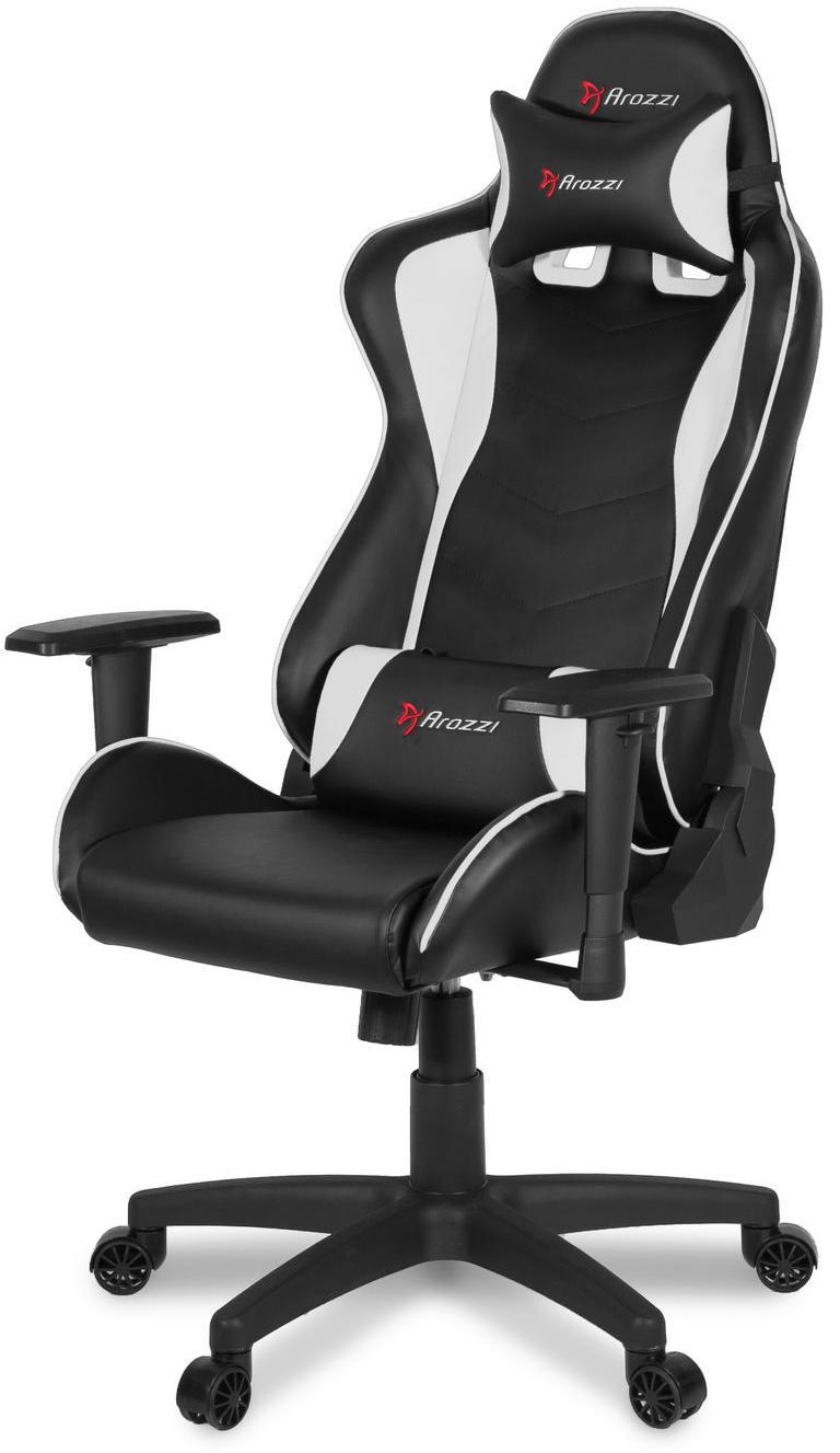 Игровое кресло Arozzi Mezzo V2 (Black/White)