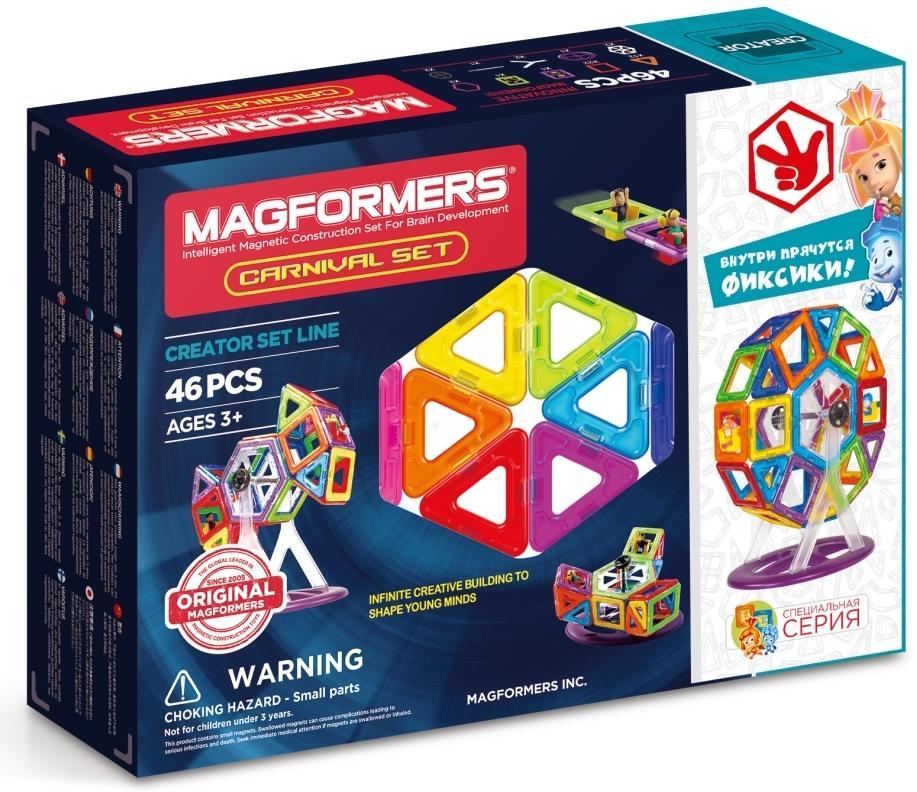 Магнитный конструктор Magformers Fixie Carnival Set (703001)