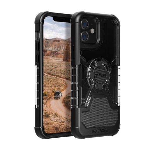Чехол-накладка Rokform Crystal Wireless для iPhone 12 Mini со встроенным неодимовым магнитом. Материал: поликарбонат. Цвет: прозрачный. Rokform Crystal Case for iPhone 12 Mini - Clear