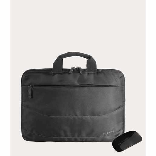 "Рюкзак Tucano Borsa Idea PC bag 15.6"" + MOUSE, цвет черный"