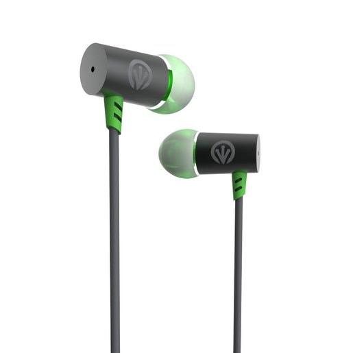 Наушники iFrogz Luxe Air с микрофоном вставные. Цвет зеленый.