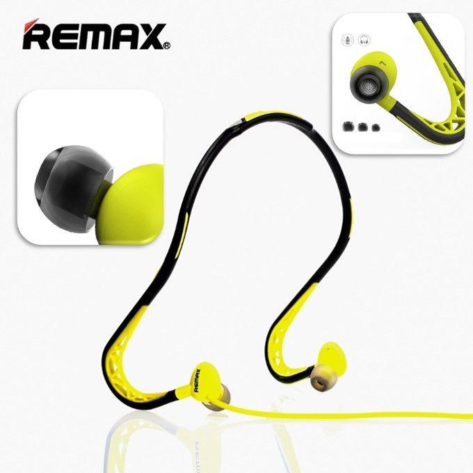 Спортивные стереонаушники Remax RB-S15 (зеленый)