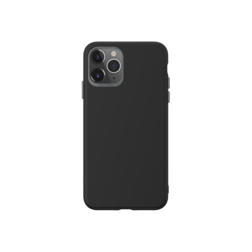 Чехол SwitchEasy Colors для iPhone 11 Pro. Материал полиуретан. Цвет черный.