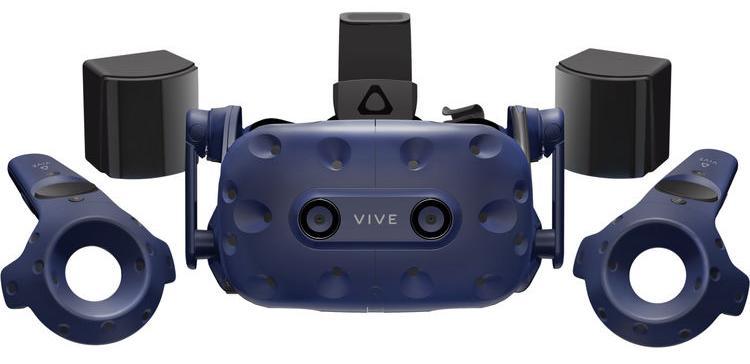 Шлем виртуальной реальности HTC VIVE Pro Full Kit (Blue)