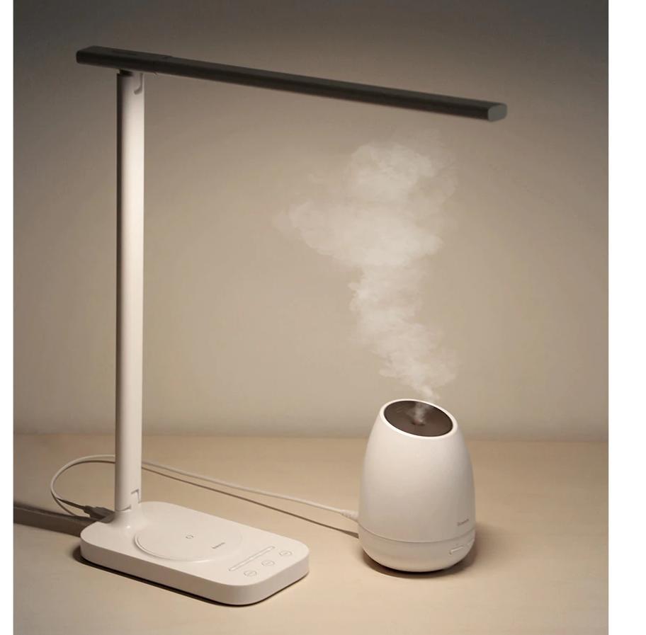 Лампа Baseus Lett (ACLT-B02) с беспроводной зарядкой (White)