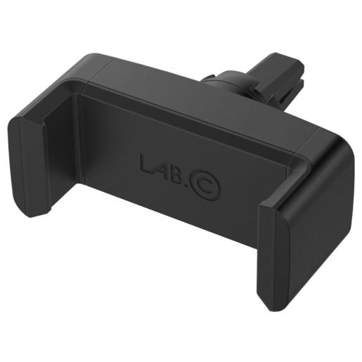 Автомобильный держатель LAB.C New Air Vent Mount для смартфонов. Крепление в воздуховод. Материал пластик. Цвет черный.
