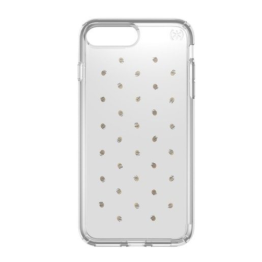 Чехол Speck Presidio Clear + Prints для iPhone 7 Plus. Материал пластик. Цвет: серебряный/прозрачный.