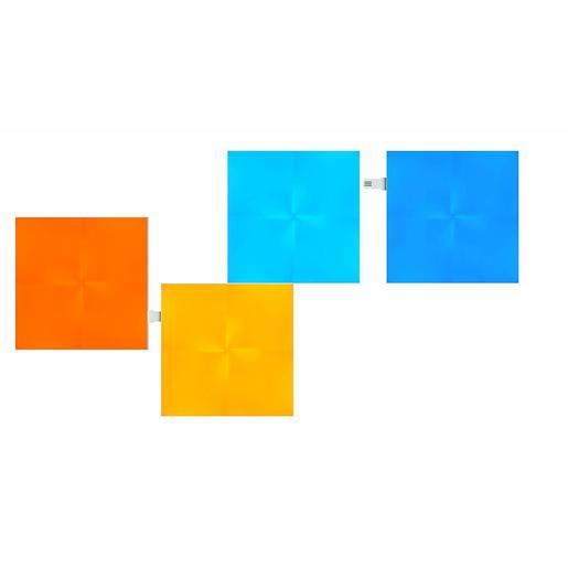 Дополнительные светодиодные панели для светильника Nanoleaf Canvas. В комплекте 4 шт.