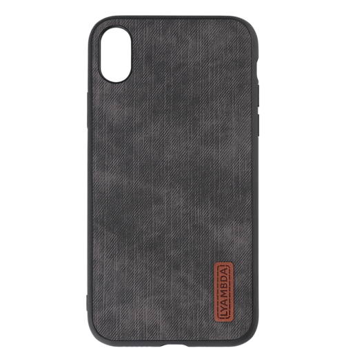 Lyambda Reya Чехол для iPhone XS Max (LA07-RE-XSM-BK) Black