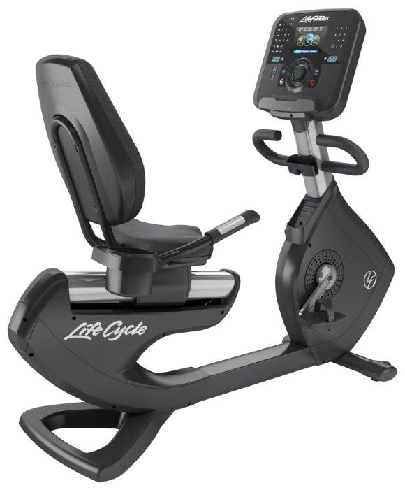 Горизонтальный велотренажер Life Fitness Platinum Club Lifecycle 95R Explore