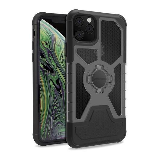 Чехол-накладка Rokform Crystal Wireless для iPhone 11 Pro Max со встроенным неодимовым магнитом. Материал: поликарбонат. Цвет: черный. Rokform Crystal Wireless Case for iPhone 11 Pro Max - Black