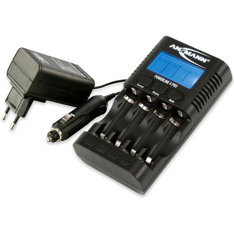 Зарядное устройство Ansmann Powerline 4 Pro