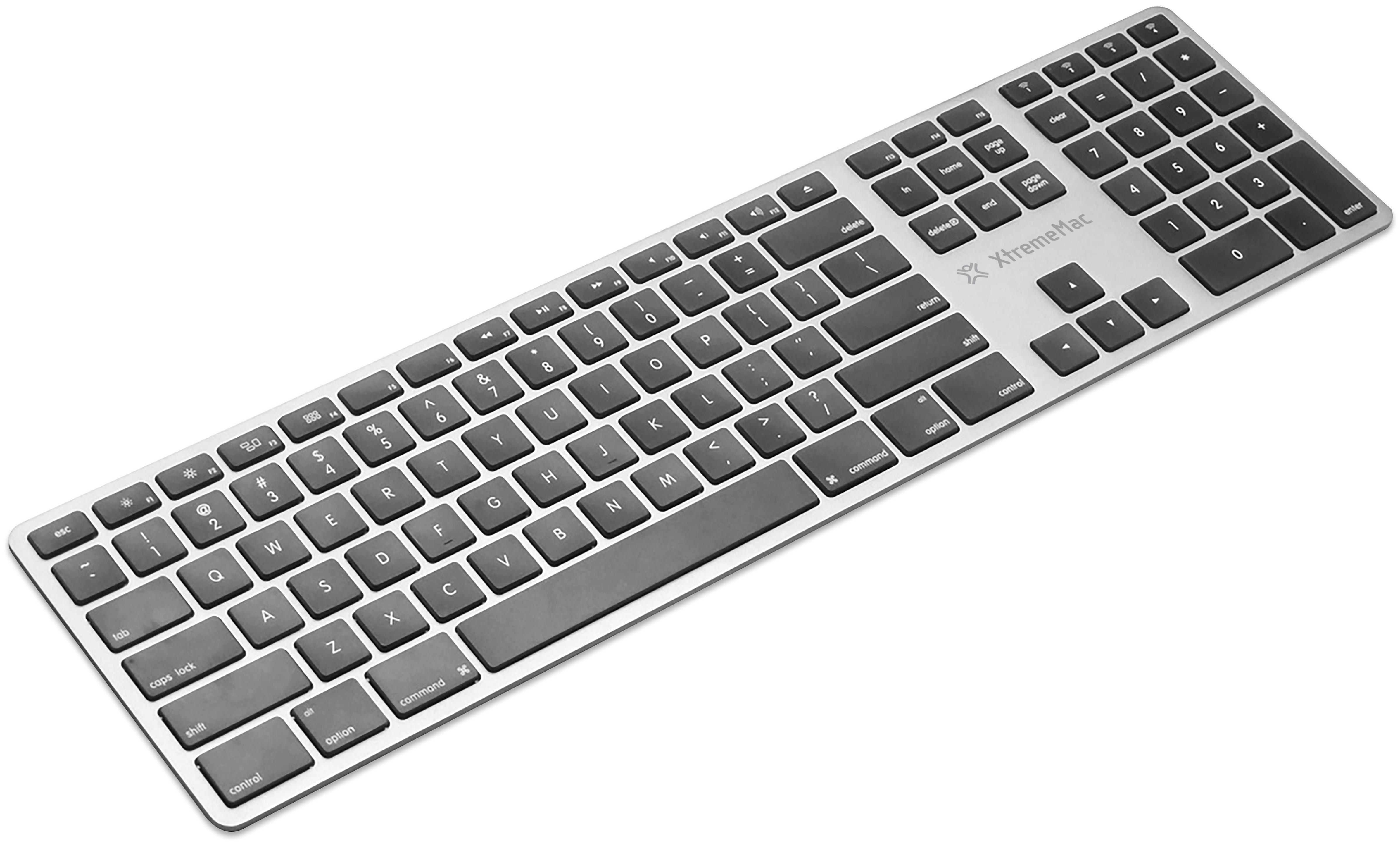 Беспроводная клавиатура XtremeMac Bluetooth Keyboard XM-KEY-BT4-SLV (Silver)
