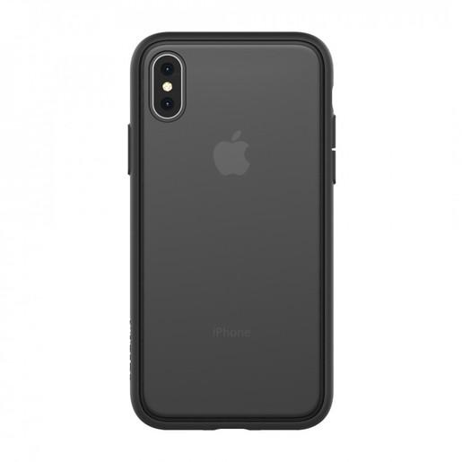 Чехол-накладка Incase Pop Case II для iPhone XS. Материал пластик. Цвет прозрачный черный.