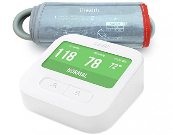 Тонометр iHealth Clear Wireless Blood Pressure Monitor SLRBPM1 (White)
