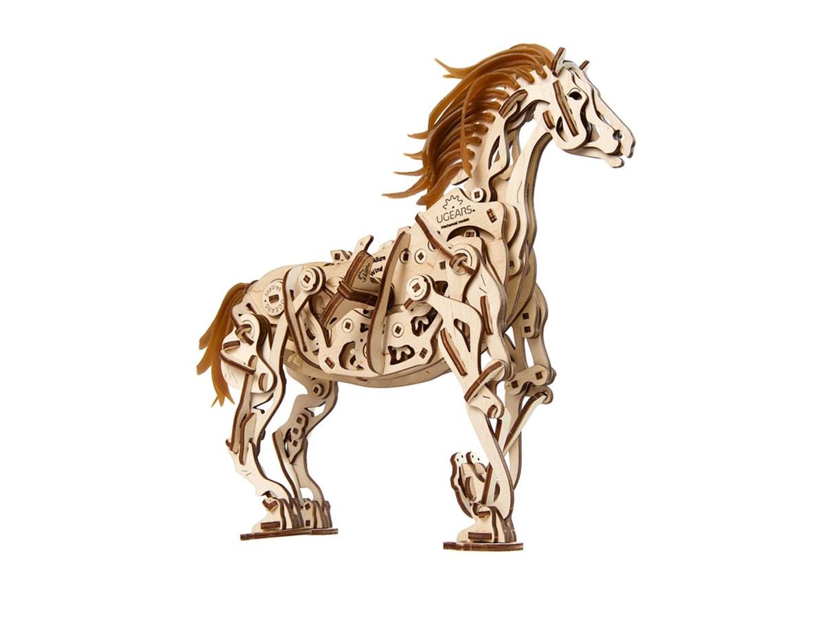 3D-пазл UGears Лошадь-Механоид (Horse-Mechanoid)