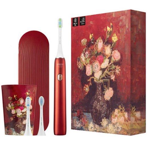 Электрическая зубная щетка Soocas Van Gogh Electric Toothbrush X3U (красная) SOOCAS X3U Van Gogh Electric Toothbrush Red