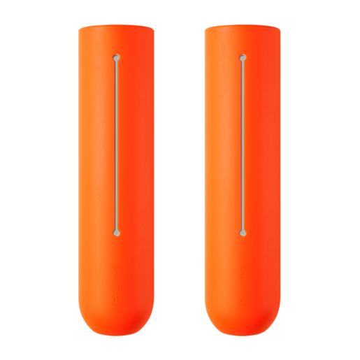 Накладки на ручки для скакалок Smart Rope. Материал силикон. Цвет оранжевый.