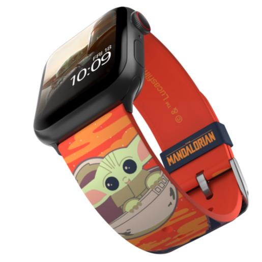 Ремешок MobyFox STAR WARS - The Child Bounty 2, оранжевый (для Apple Watch, все размеры)