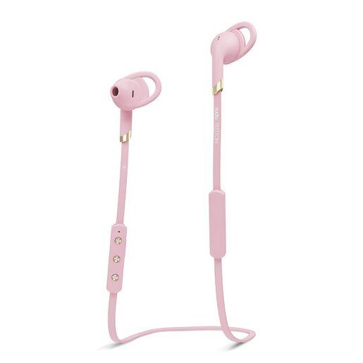 Бепроводные наушники Sudio Tretton. Цвет розовый.
