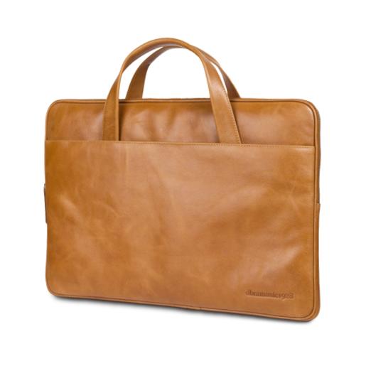 """Сумка dbramante1928 Silkeborg для ноутбуков 15"""" дюймов. Материал натуральная кожа. Цвет: коричневый."""