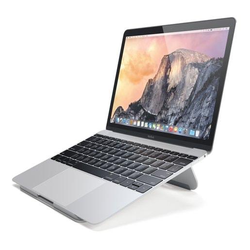 Подставка Satechi Aluminum Portable & Adjustable Laptop Stand для ноутбуков Apple MacBook. Материал алюминий. Цвет серебряный.