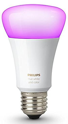 Умная лампа Philips Hue White & Color Ambiance E27 (White)