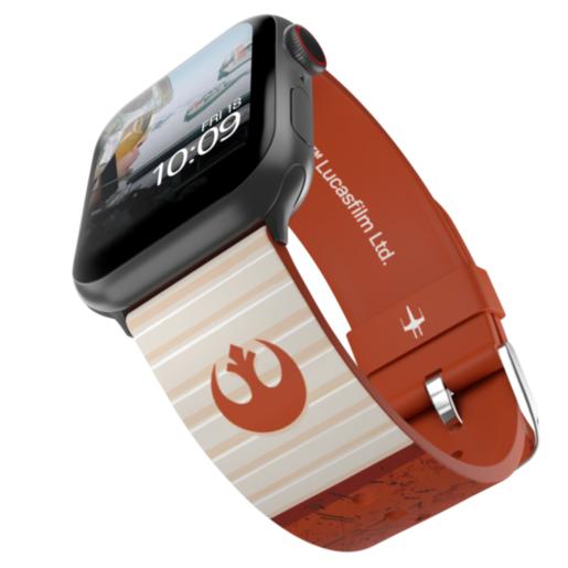 Ремешок MobyFox STAR WARS - Rebel Band, оранжевый (для Apple Watch, все размеры)