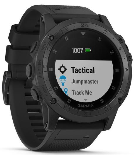 Спортивные GPS-часы Garmin Tactix Charlie 010-02085-00 (Black)