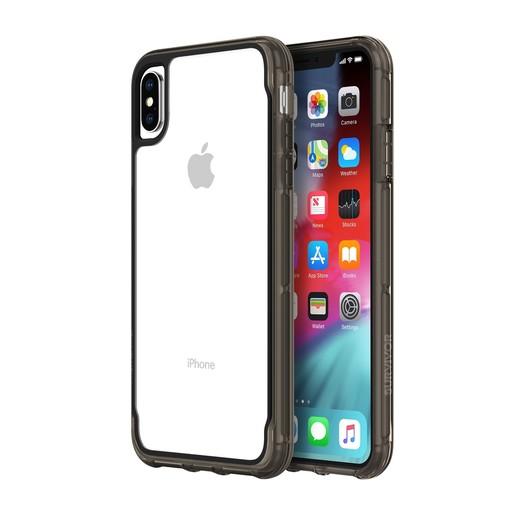 Чехол защитный Griffin Survivor Clear для iPhone XS Max. Материал пластик. Цвет прозрачный/черный.