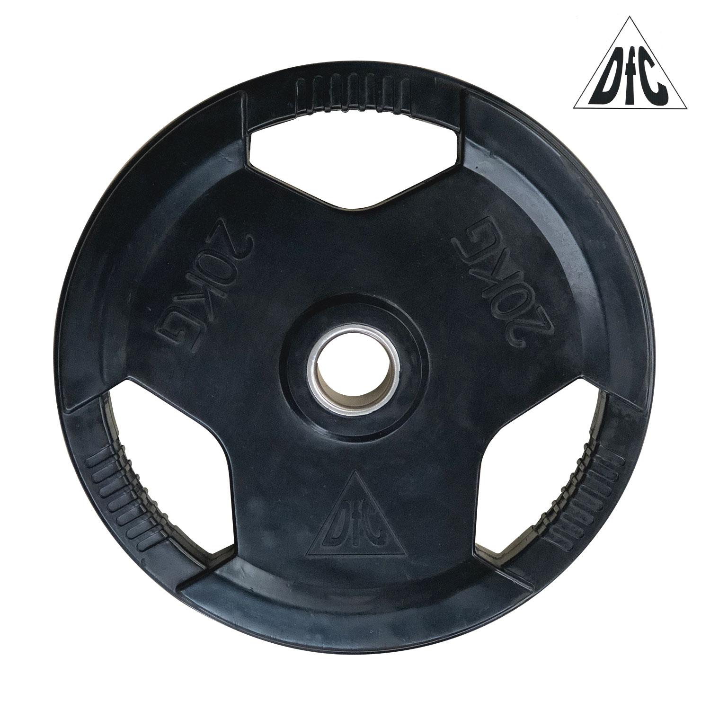 Диск обрезиненный DFC, чёрный, 51 мм, 20кг