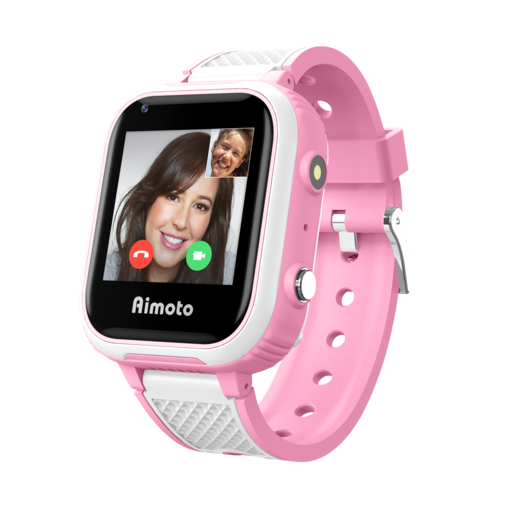 AIMOTO Pro Indigo 4G Детские умные часы (розовые)
