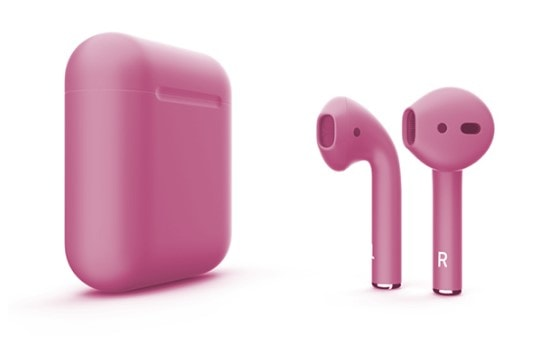 Беспроводные наушники Apple AirPods Color (Matte Pink)