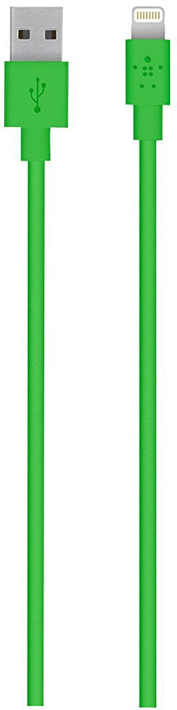 Belkin Mixit UP 1.2 м (F8J023BT04-GRN) - кабель USB-Lightning (Green)