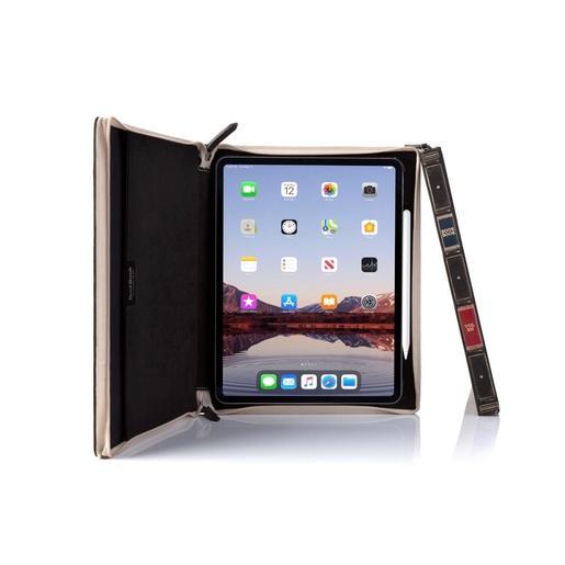 """Чехол-книга на молнии в твердом переплете Twelve South BookBook Case Vol. 2 для iPad Pro 11"""". Цвет: коричневый. Материал: натуральная кожа."""