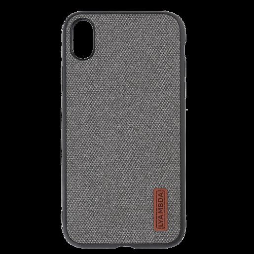 Lyambda Regul Чехол для iPhone XS (LA06-RG-XS-GR) Grey