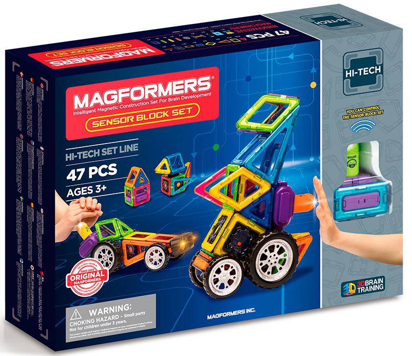 Магнитный конструктор Magformers Sensor Block Set (709009)