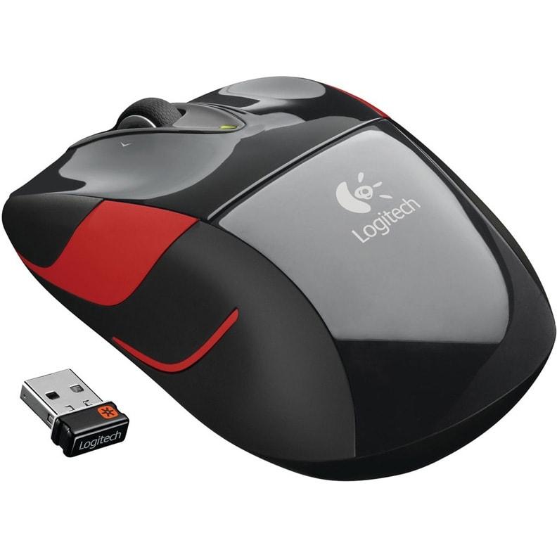 Мышь Logitech M525 Wireless Mouse Black (910-004932)