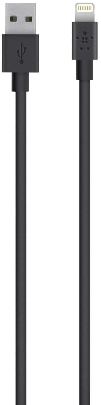 Belkin Mixit UP 2 м (F8J023bt2M-BLK) - кабель USB-Lightning (Black)
