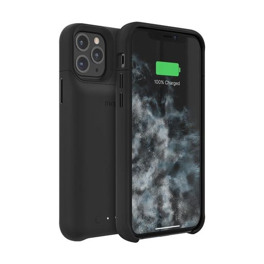 Чехол Mophie Juice Pack со встроенным аккумулятором для iPhone 11 Pro. Цвет черный.