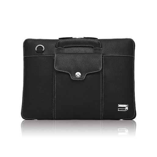 """Сумка Urbano для Apple MacBook 12"""", материал кожа. Цвет: черный."""