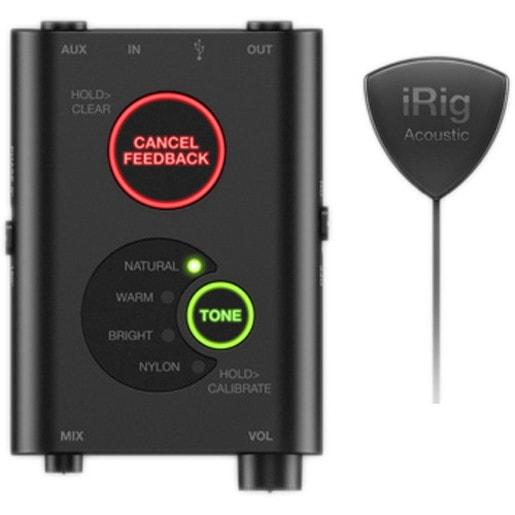 Цифровая микрофонная система IK Multimedia iRig Acoustic Stage для акустической гитары.
