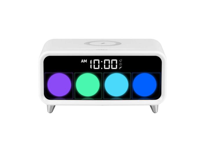 Будильник с беспроводной зарядкой Rombica Timebox 1