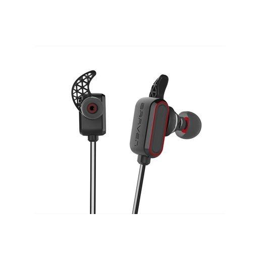 Беспроводные внутриканальные наушники с микрофоном Braven Flye Sport Reflect. Цвет серыйкрасный.