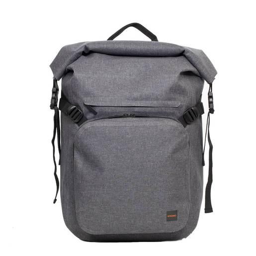 """Рюкзак водозащитный Knomo Hamilton для ноутбука до 14"""". Материал TPU полиуретан. Цвет серый."""
