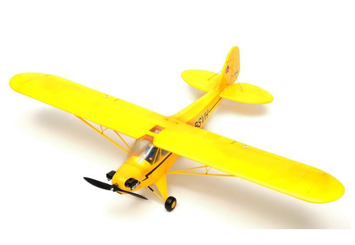 FMS Радиоуправляемый Самолет - Piper Cub J3 1030мм RTF (акк. 1300мАч, ЗУ)