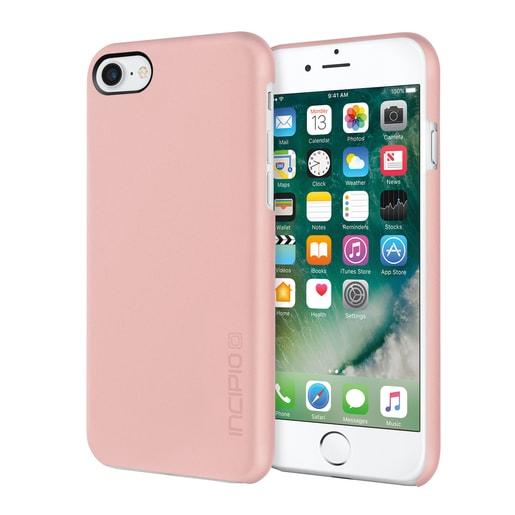 Incipio Feather для iPhone 7. Материал пластик. Цвет розовое золото.