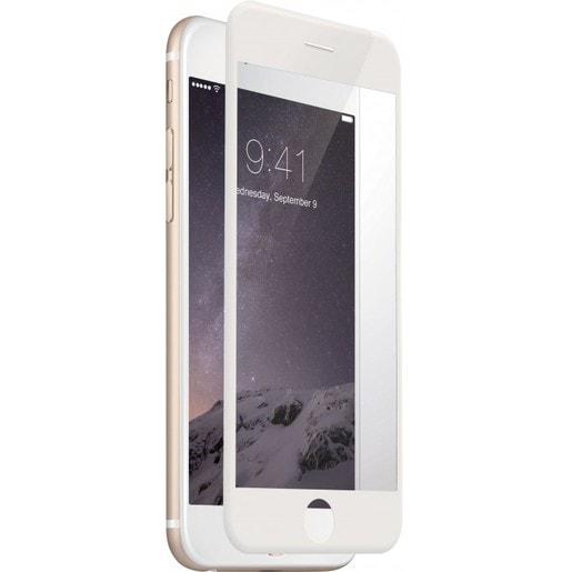 Just Mobile AutoHeal на экран для iPhone 6/6s Plus. Цвет боковых сторон - белый.